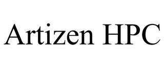 mark for ARTIZEN HPC, trademark #85704198