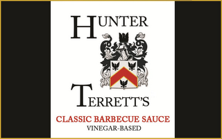 mark for HUNTER TERRETT'S CLASSIC BARBECUE SAUCE VINEGAR-BASED, trademark #85704242