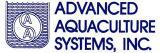 mark for AAS ADVANCED AQUACULTURE SYSTEMS, INC., trademark #85704260
