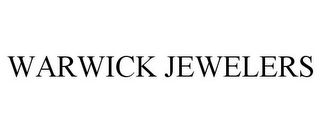 mark for WARWICK JEWELERS, trademark #85704409