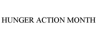 mark for HUNGER ACTION MONTH, trademark #85704566