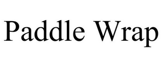 mark for PADDLE WRAP, trademark #85704709
