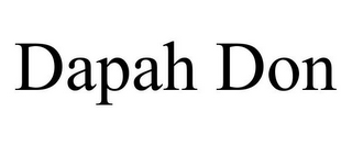 mark for DAPAH DON, trademark #85704864