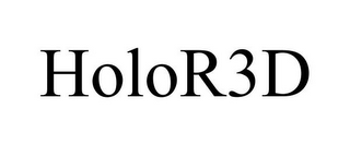mark for HOLOR3D, trademark #85704988