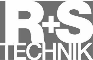 mark for R+S TECHNIK, trademark #85705018