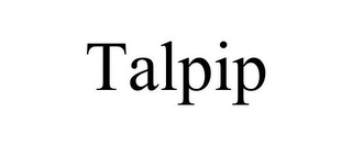 mark for TALPIP, trademark #85705051