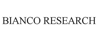 mark for BIANCO RESEARCH, trademark #85705124