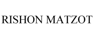 mark for RISHON MATZOT, trademark #85705165