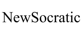 mark for NEWSOCRATIC, trademark #85705708