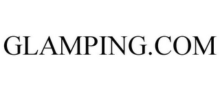 mark for GLAMPING.COM, trademark #85705916