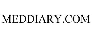 mark for MEDDIARY.COM, trademark #85706081