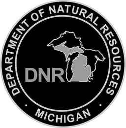 mark for MICHIGAN DEPARTMENT OF NATURAL RESOURCES DNR, trademark #85706138
