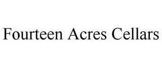mark for FOURTEEN ACRES CELLARS, trademark #85706425