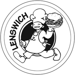 mark for LENSWICH, trademark #85706615