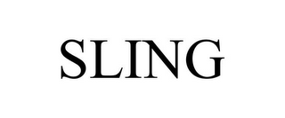 mark for SLING, trademark #85706634