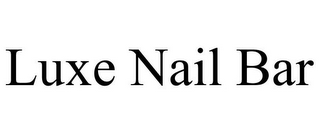 mark for LUXE NAIL BAR, trademark #85706870