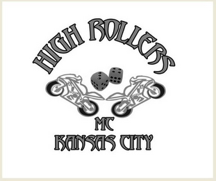 mark for HIGH ROLLERS MC KANSAS CITY, trademark #85707056