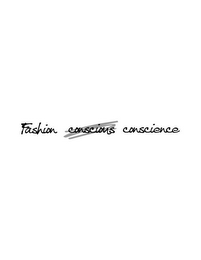mark for FASHION CONSCIENCE, trademark #85707222