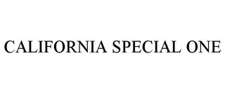 mark for CALIFORNIA SPECIAL ONE, trademark #85707286