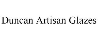 mark for DUNCAN ARTISAN GLAZES, trademark #85707309