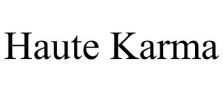 mark for HAUTE KARMA, trademark #85707364