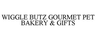 mark for WIGGLE BUTZ GOURMET PET BAKERY & GIFTS, trademark #85707454