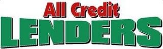 mark for ALL CREDIT LENDERS, trademark #85707729