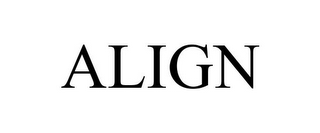 mark for ALIGN, trademark #85707774