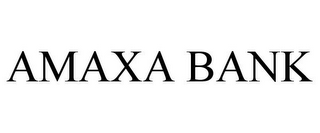 mark for AMAXA BANK, trademark #85707861