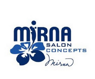 mark for MIRNA SALON CONCEPTS MIRNA, trademark #85707934