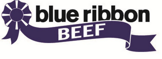 mark for BLUE RIBBON BEEF, trademark #85708282