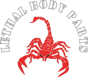 mark for LETHAL BODY PARTS, trademark #85708352