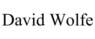 mark for DAVID WOLFE, trademark #85708466