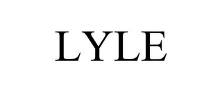 mark for LYLE, trademark #85708788