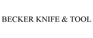 mark for BECKER KNIFE & TOOL, trademark #85708790