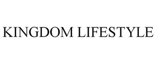 mark for KINGDOM LIFESTYLE, trademark #85708988