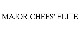 mark for MAJOR CHEFS' ELITE, trademark #85709063