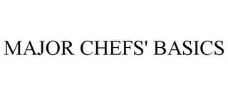 mark for MAJOR CHEFS' BASICS, trademark #85709067