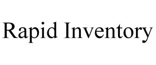 mark for RAPID INVENTORY, trademark #85709299