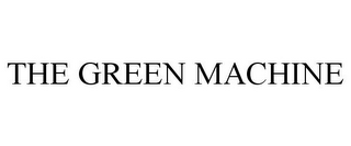 mark for THE GREEN MACHINE, trademark #85709461