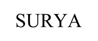 mark for SURYA, trademark #85709570