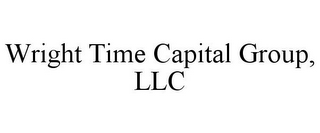 mark for WRIGHT TIME CAPITAL GROUP, LLC, trademark #85709654