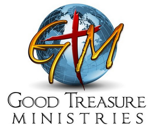 mark for GTM GOOD TREASURE MINISTRIES, trademark #85709730