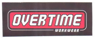 mark for OVERTIME WORKWEAR, trademark #85709791