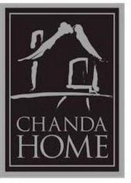 mark for CHANDA HOME, trademark #85709814