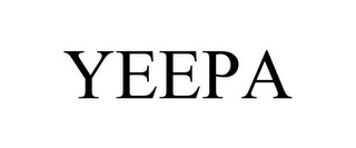 mark for YEEPA, trademark #85709903