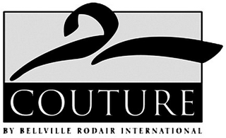 mark for COUTURE BY BELLVILLE RODAIR INTERNATIONAL, trademark #85709959