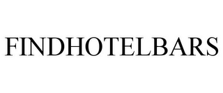 mark for FINDHOTELBARS, trademark #85710019