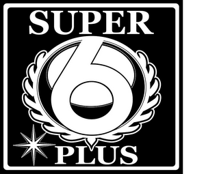 mark for SUPER 6 PLUS, trademark #85710096