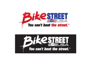 mark for BIKESTREET USA YOU CAN'T BEAT THE STREET., trademark #85710358